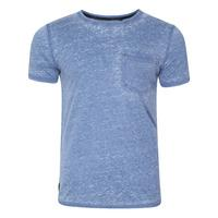 b56bf7136b26 Burn3 Burnout T-Shirt in Federal Blue – Dissident | UK Clothes ...