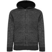 7657f05603b24 Argyll Sherpa Lined Hooded Cardigan in Charcoal Marl – Tokyo Laundry ...